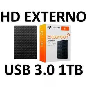 Hd externo 1tb portatil seagate expansion 1 tera poucas unds