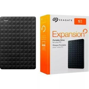 Hd externo 1tb portátil seagate expansion usb 3.0 ps4