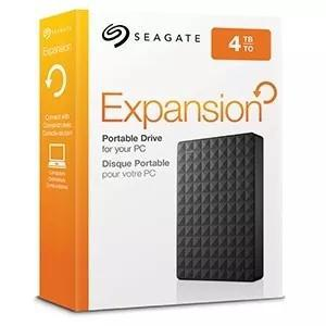 Hd externo slim de bolso seagate 4000gb - 4tb usb 3.0