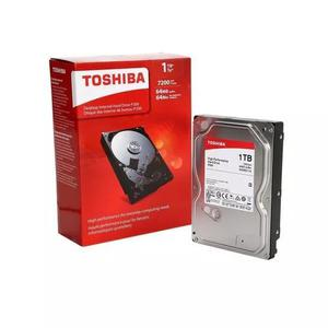 Hd toshiba 1tb sata 3 6.0gb/s 64mb 7200 rpm high performance