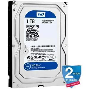 Hd wester digital blue 1tb sata 64mb cache wd10ezex