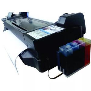 Impressora ploter hp t120 61cm rolo e a1 + bulk = 2,5l tinta