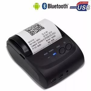 Kit 20 mini impressora bluetooth termica 58mm android