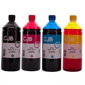 Kit 4 litros de tinta epson impressora l355 l365 l375 l395