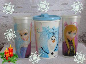Kit frozen tupperware especial de natal.