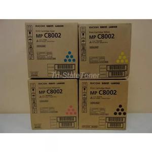 Kit toner ricoh mp c6502 c8002 c/ 04 cores original