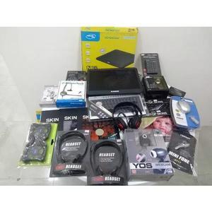Lote produtos informatica headset barato mouse microfone