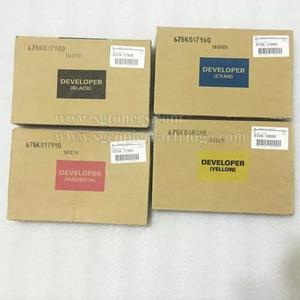 Xerox x700 x550 x560 revelador kit completo c/04 cores novo