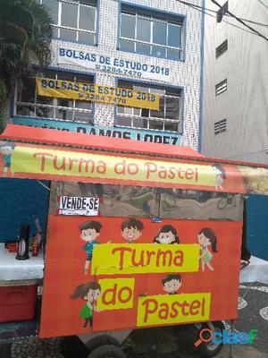 Carrinho de Pastel Com Licença no Gonzaga em Santos