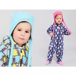2 macacão pijama infantil criança bebe brinde térmica