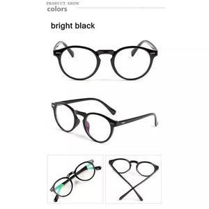 Armação óculos d grau acetato redondo masculino f