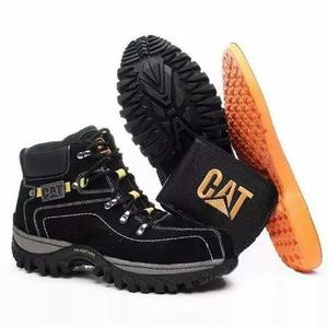 Bota coturno adventure botina caterpillar couro cat original
