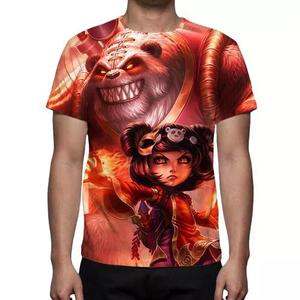 Camisa, camiseta league of legends annie a criança sombria