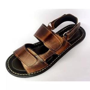 Chinelos vira sandalias masculina couro promoção 900