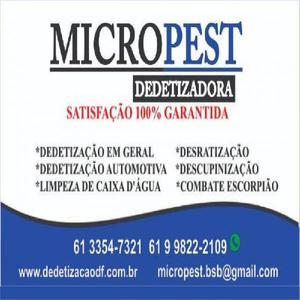 Micropest dedetizadora