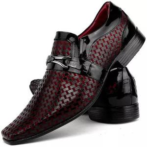 e90a6cdf04 Sapato masculino social preto   REBAIXAS Maio
