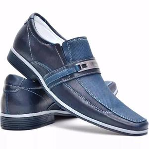 9801b2da0 Sapato social masculino casual confortavel dhl calçados