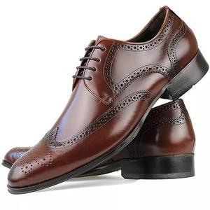779946a5b5f99 Sapato social oxford masculino couro legitimo preto solado