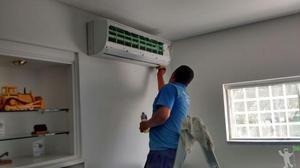R$190,00 instalação ar condicionado