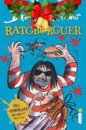 Rato burguer. promoção de natal