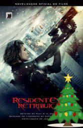 Resident evil: retribuição. promoção de natal