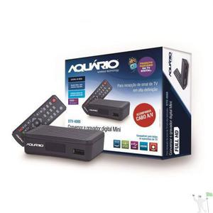 Conversor e gravador digital aquário dtv-4000