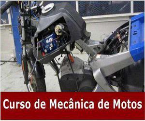 Mecânica de motos - aprenda tudo sobre mecânica de motos