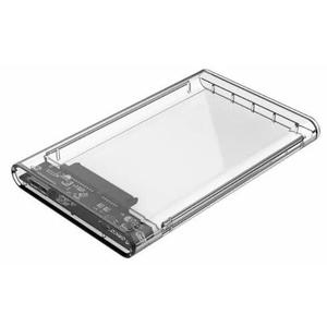Case P/hd/ssd 2.5 Usb 3.0 Transparente Orico 2139u3 C/cabo