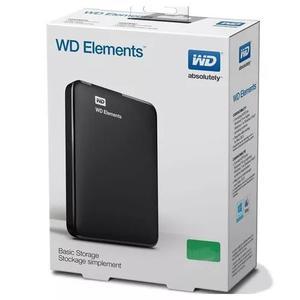 Hd externo 4tb portátil western digital el