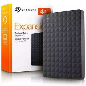 Hd externo 4tb seagate expansion usb 3.0 portátil