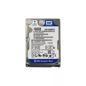 Hd notebook western digital 160gb -5400rpm-sata -wd1600bevt