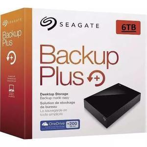 Hd seagate expansion 6tb backup plus hub 6 tera 6000gb