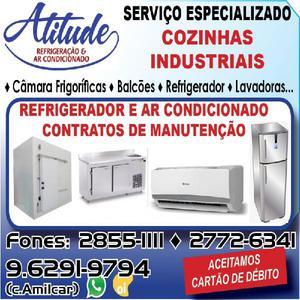 Instalação,manutenção em ar condicionado e