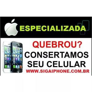 Assistência técnica conserto iphone apple