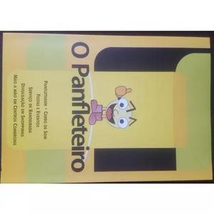 Distribuição de panfletos