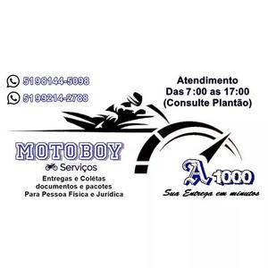 Motoboy a1000 (coletas e entregas)