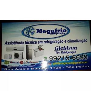 Serviços de refrigeração e climatização.