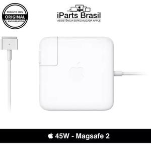 Fonte carregador original apple macbook air 45w magsafe 2