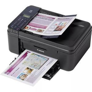 Multifuncional canon e481 preto wifi copiadora fax e scanner