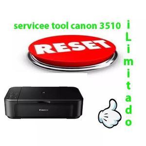Reset Para Canon,mg 3510 Erro 5b00 5bo2 Não Expira