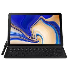Capa protetora com teclado galaxy tab s4 10.5 preta