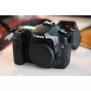 Câmera canon eos 40d com lente 18-55mm