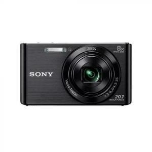 Câmera digital sony cyber-shot dsc-w830 20.1mp preta