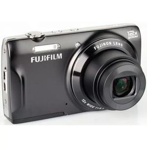 Câmera fotografica digital fujifilm t550 preta - lcd 3.0