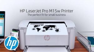 Impressora hp laserjet pro m15w wireless nova