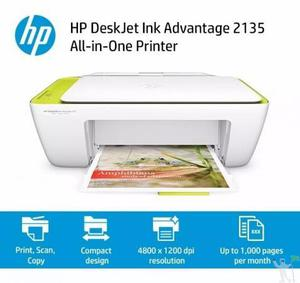 Impressora multifuncional hp ink advantage 2135