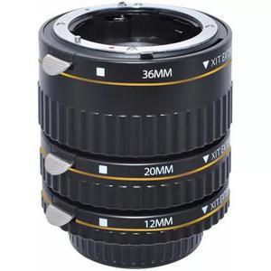 Kit tubo de extensão automático macrofotografia para nikon