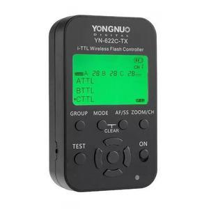 Radio flash yongnuo yn-622c-tx yn622ctx i-ttl para canon
