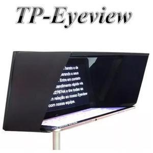 Teleprompter portátil eyeview youtubers tablet até 12 pol