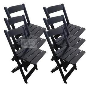 6 cadeiras dobrável bar e restaurante madeira maciça